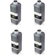 refill black ink 100ml bottles set of 4 for refill of HP (Black)