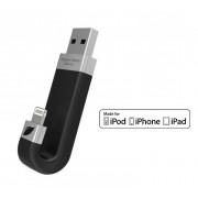 Leef iBridge 16GB Czarny - zewnętrzna pamięć dla urządzeń iOS