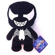 Exclusive Universal Studios Marvel Super Hero Island : 9 Super Deformed Venom Spiderman Plush Toy Figure