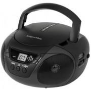 Microsistem Audio Kruger & Matz KM6101, CD/MP3 Player, Radio AM/FM (Negru)