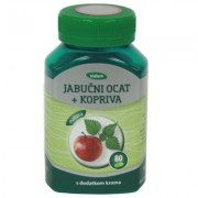 Biofarm Jabučni ocat + kopriva + krom kapsule