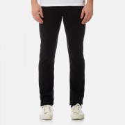 7 For All Mankind Men's Slimmy Denim Jeans - Plus Rinse Black - W36 - Black