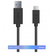Sony UCB30 USB Type-C High Speed Cable - 1m - Black