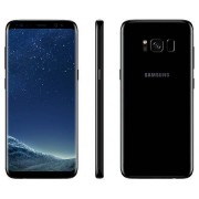"Samsung Smartphone Samsung Galaxy S8 Sm G950f 64 Gb 4g Lte Wifi 12 Mp Dual Pixel Octa Core 5.8"" Quad Hd+ Super Amoled Midnight Black Garanzia Ufficiale Samsung Europa"