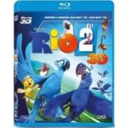Rio 2 BluRay Combo 3D+2D 2014