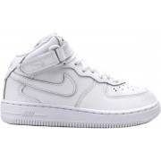 Nike Air Force 1 Mid (PS) 314196-113 Wit-27.5