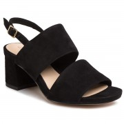 Сандали CLARKS - Sheer55 Sling 261488804 Black Suede