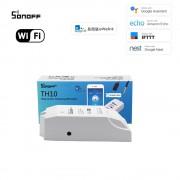 Sonoff TH10 (10A) WiFi Spínač s Meraním Teploty a Vlhkosti