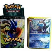Bestie Toys Pokemon Trading Cards Sun and Moon Card Game for Kids (Multicolor)