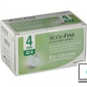 ROCHE DIABETES CARE ITALY SpA ACCU-FINE AGO G32 4MM 100PZ