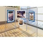Konstrukcja ekspozycyjna STALOWA 200 x 100 cm Ekspozycyjna konstrukcja - stalowa