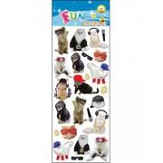25 stk Klistermärken av Gangster Cats