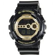 G-Shock Digital Gold Dial Mens Watch - GD-100GB-1DR (G340)