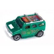 Auto World XTraction Rat Fink Hummer H2 Metallic Green HO Slot Car