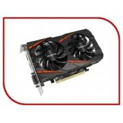 Видеокарта GigaByte Radeon RX 560 Gaming OC 4G 1300Mhz PCI-E 3.0 4096Mb 7000Mhz 128 bit DVI HDMI GV-RX560GAMING OC-4GD