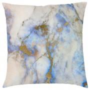 Marble Print Cushion - Blue Marbles - Blue Marble 4
