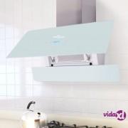 vidaXL Kuhinjska Napa sa Zaslonom Osjetljivim na Dodir 900 mm Bijela