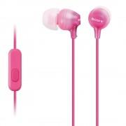 Слушалки (розови) Sony MDR-EX15AP 3,5mm жак