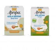 Desa Pharma Apropos Gola Defens Spray Forte 20ml + Vox Defence 5 Pastiglie Mentolo Eucaliptolo