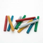 Ragasztórúd - 11 mm - színes, glitteres 10 db / csomag
