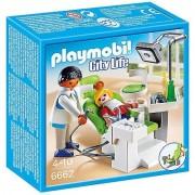 Dentist cu pacient Kid Clinic Playmobil