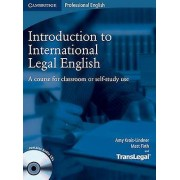 Introduction to International Legal English Students Book with Audi...