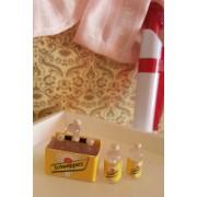 Cutie Schweppes cu 6 sticlute - miniaturi