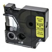 Dymo Nastro per stampante di etichette Nero su Giallo, compatibile con LabelManager 150, 6 mm, 43618