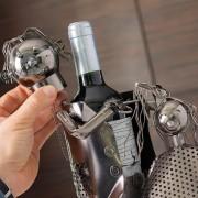 Suport pentru sticla de vin Hairstylist