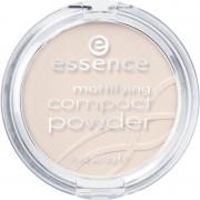 Essence Pudra Compacta Mattifying Compact Powder 10 Light Beige 12 g