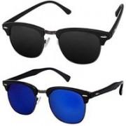 Devew Clubmaster Sunglasses(Multicolor)