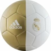 Minge Fotbal Adidas Real Madrid Alb/Auriu Marime 5