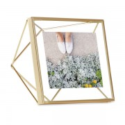 Рамка за снимки UMBRA PRISMA - цвят месинг - 10 х 10 см
