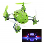 Hubsan Q4 H111 4-Channel RC Quadcopter With 2.4GHz Radio System(Green)