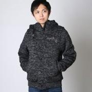 【SALE 8%OFF】ネスタブランド Nesta Brand ポリエステル杢裏ボア2wayJKT (クロ)