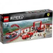 Lego Speed Champions Garajul Suprem Ferrari 75889