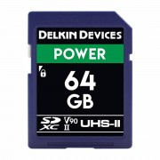 Delkin SDXC Power 64GB UHS-II V90, 300MB/s