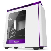 NZXT H440 White and Purple