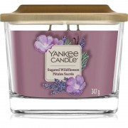 Yankee Candle Elevation Sugared Wildflowers vonná svíčka 347 g