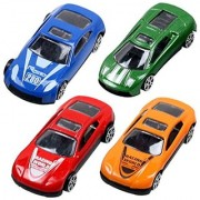Kuhu Creations Classical Toys Cars Vehicle Gift Pack. (5 Units Mix Multicolor)