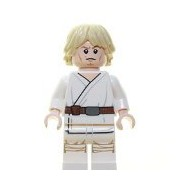 Luke Skywalker Lego Minifigure Loose From Star Wars 75052 Mos Eisley Cantina