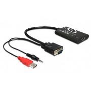 62408 ADAPTADOR VGA A HDMI CON AUDIO