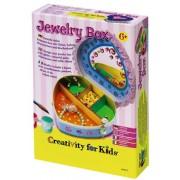 Set creatie copii FABER-CASTELL Caseta bijuterii
