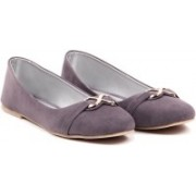 Sindhi Footwear Ballerinas Bellies For Women(Grey)