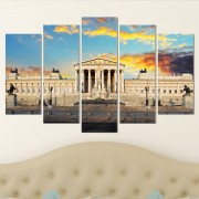 Декоративeн панел за стена с архитектурен пейзаж Vivid Home