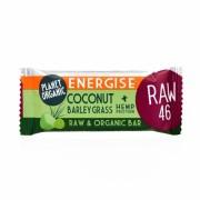 Barre Energise Noix de coco herbe d'orge 30g