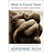What Is Found There: Notebooks on Poetry and Politics, Paperback/Adrienne Rich
