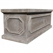 The Pot Co Fibrestone Classic Chelsea Trough Planter Available in 5 Sizes
