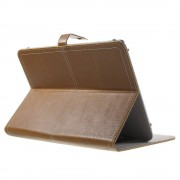 Javu - Medion Lifetab HD P8911 Hoes - Book Cover Retro Donker Bruin