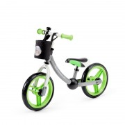 Kinderkraft metalni balans bicikl 2WAY NEXT green grey